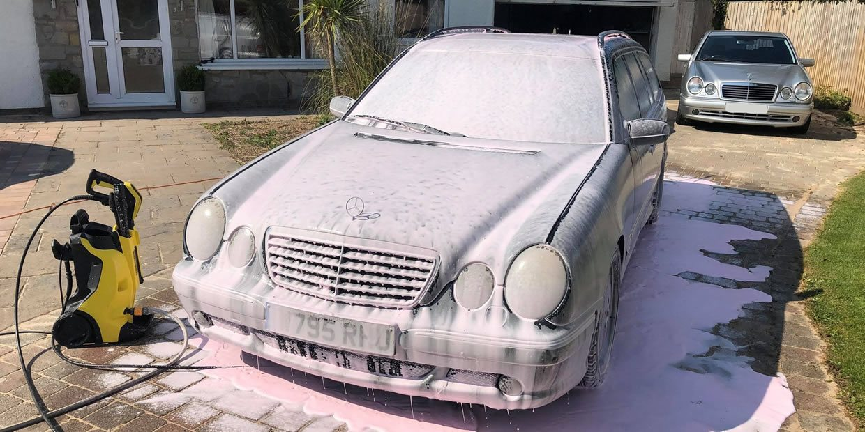 How To Wash Your Car At Home