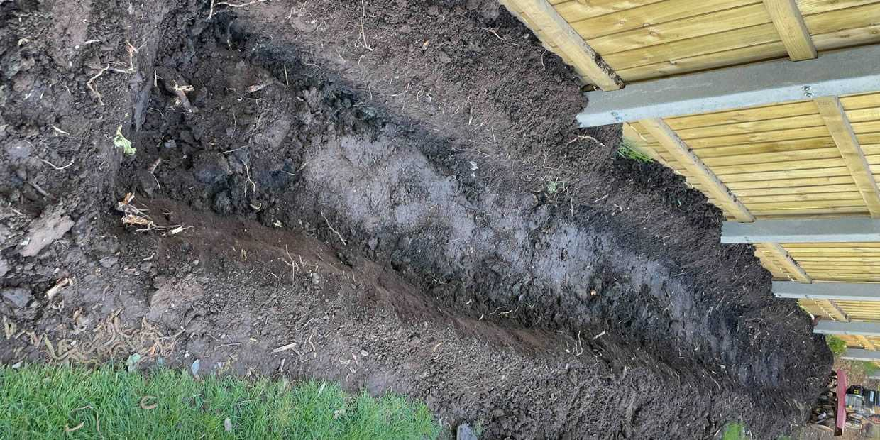 Trench For Bamboo