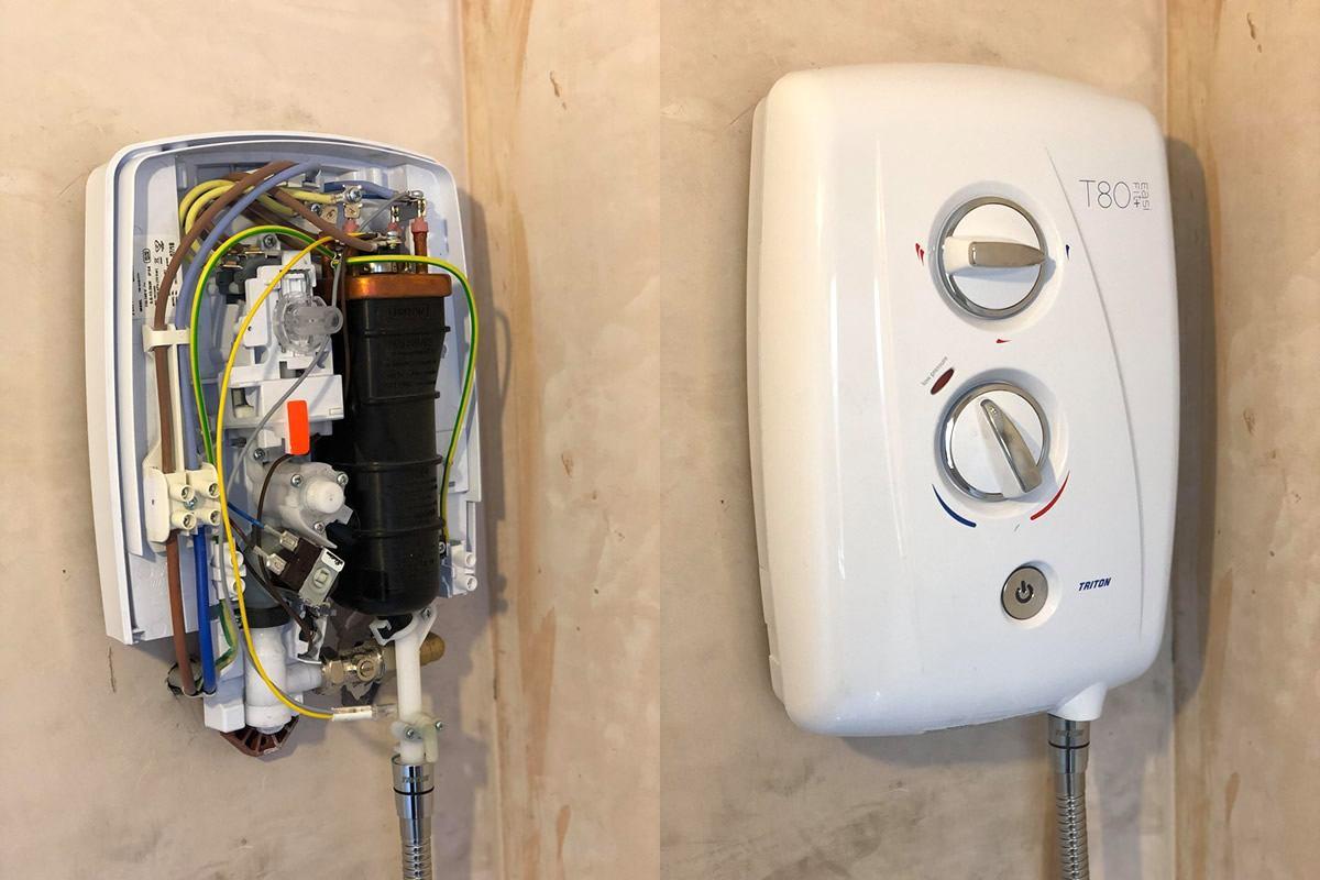 best 8.5kw electric shower